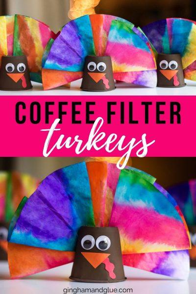 Coffee Filter Turkey Craft