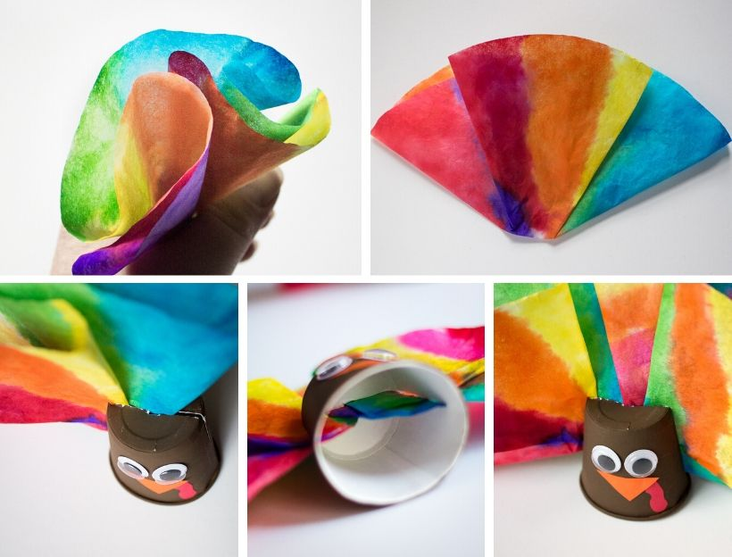 Feather for Coffee Filter Turkey